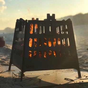 La vaca tuerta parrillas salamandras calefactores for Hogares modernos a gas